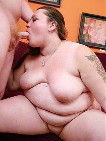 Sweet looking bbw Menoly pleasures her partner by taking his cock deep into her cunt